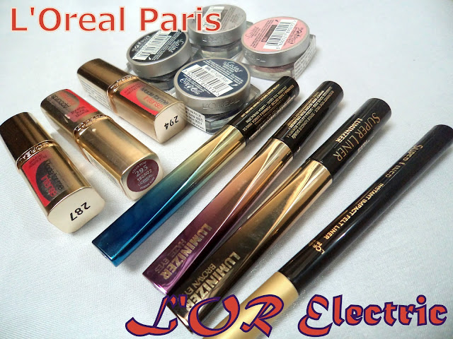 L'Oreal Paris L'OR Electric collection teaser