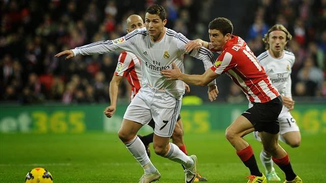 ريال مدريد ينجو من جحيم سان ماميس ويبقى ثالثا في الدوري الاسباني