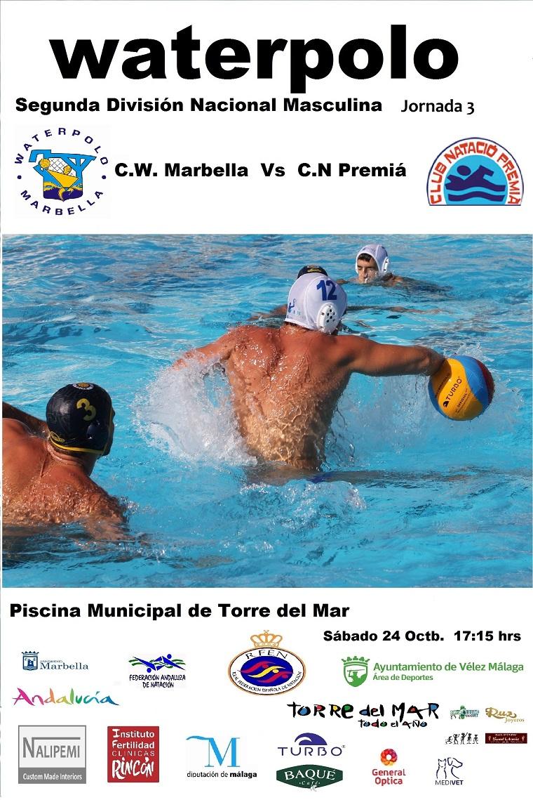 Waterpolo marbella horario partidos fin de semana for Piscina municipal premia de mar