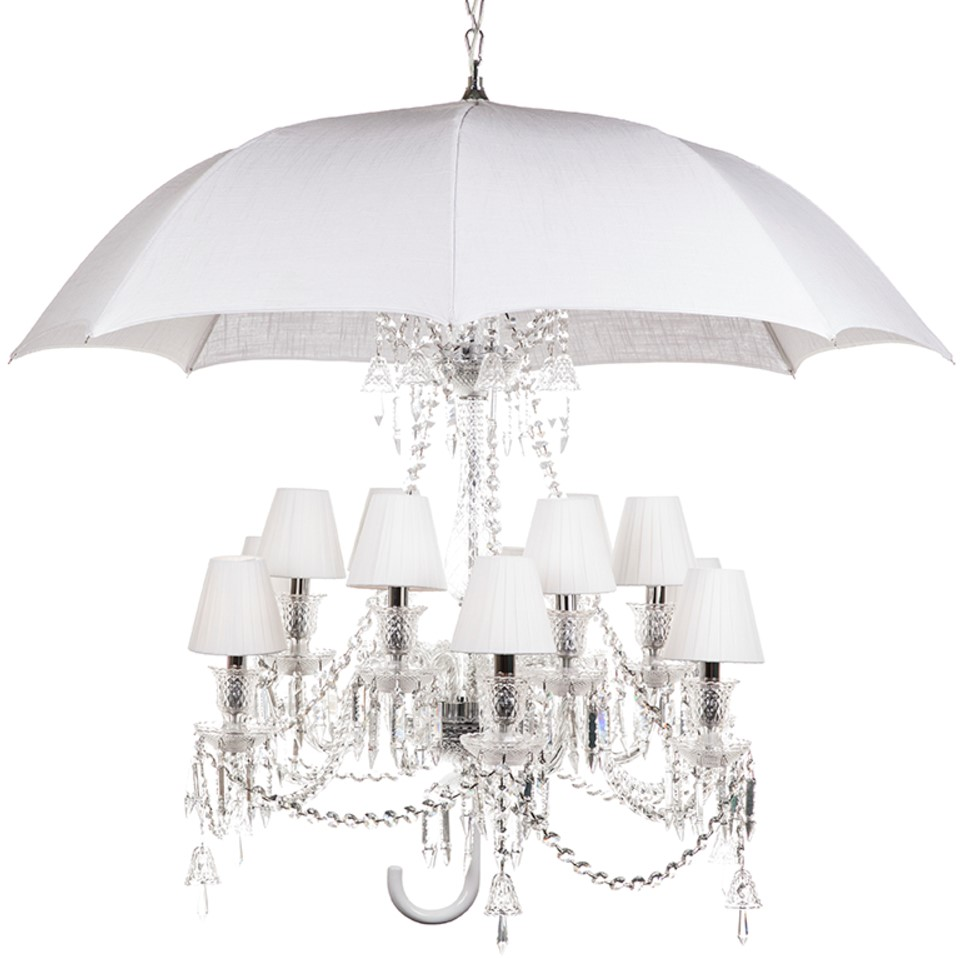 France & Son Marie Coquine umbrella chandelier replica