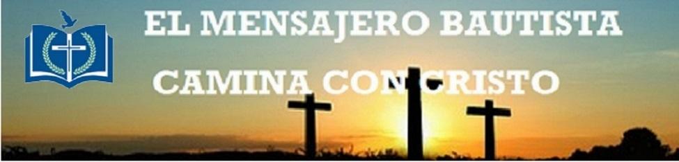 EL MENSAJERO BAUTISTA CAMINA CON CRISTO ==PEDRO AGUERO==