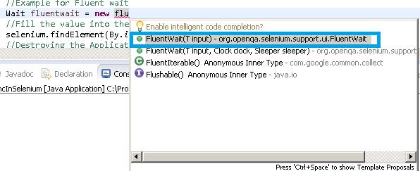 FluentWait Selenium