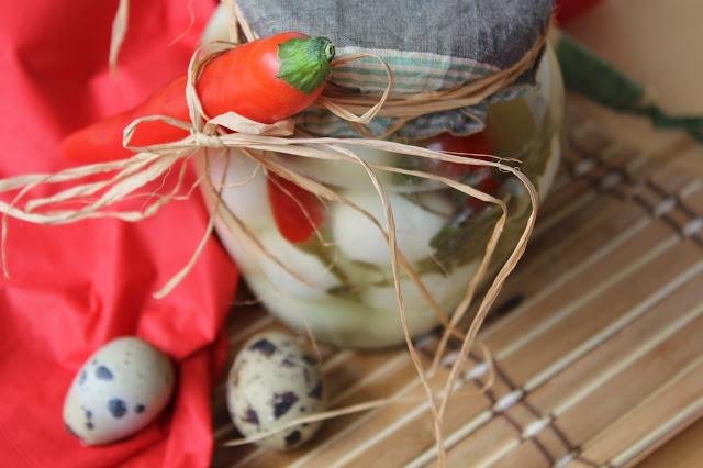 uova di quaglia piccanti