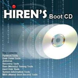 programas Download - Hirens BootCD 15.1 (2012)