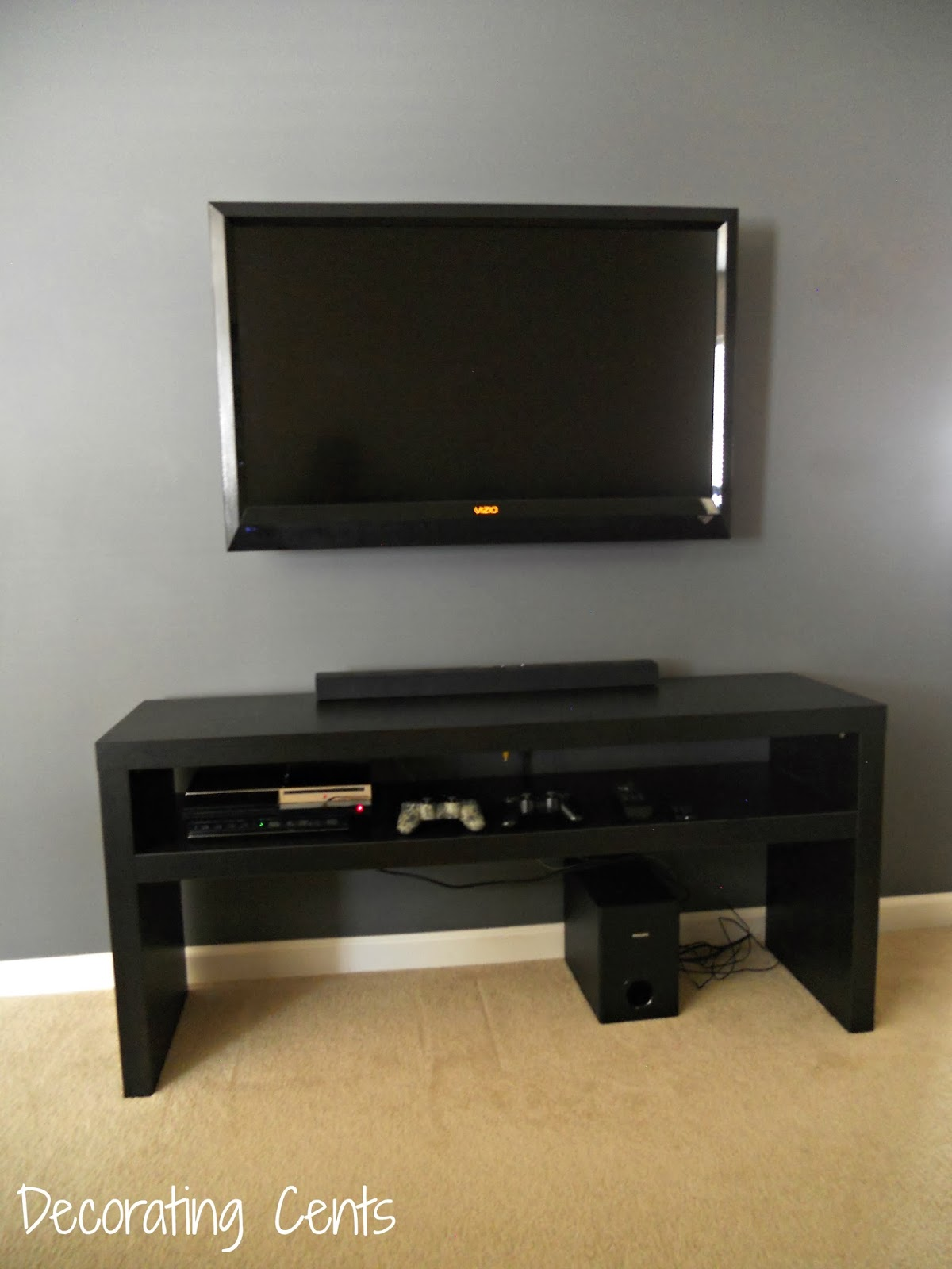 Hide Tv In Wall Decorating Cents Wall Mounted Tv And Hiding The Cords