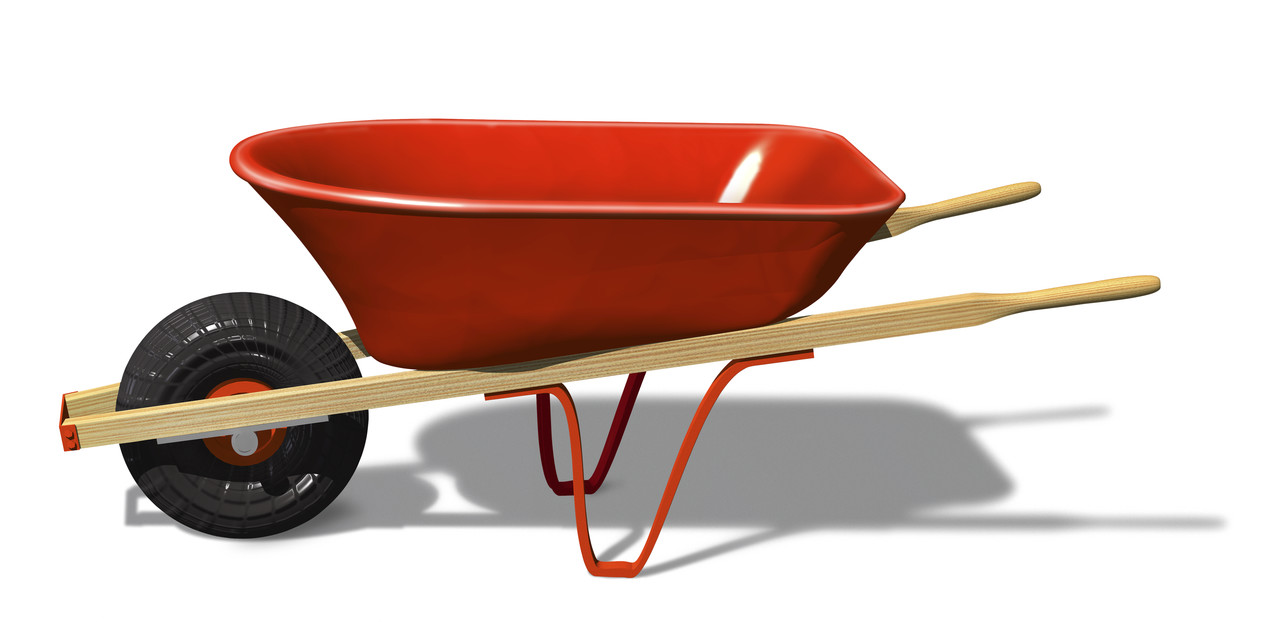 So much depends upon a red wheelbarrow