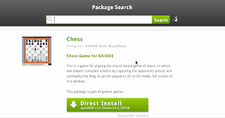 openSUSE AppStore Chess