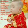 nice baby praying