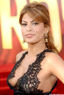 Eva Mendes breast