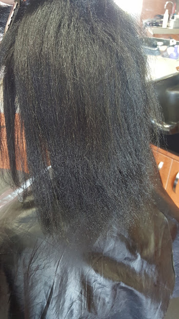 relaxers damage hair