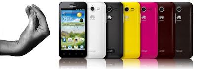Os novos smartphones da Huawei poderão ser controlados por gestos