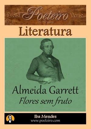 Flores sem fruto (Poemas), de Almeida Garrett
