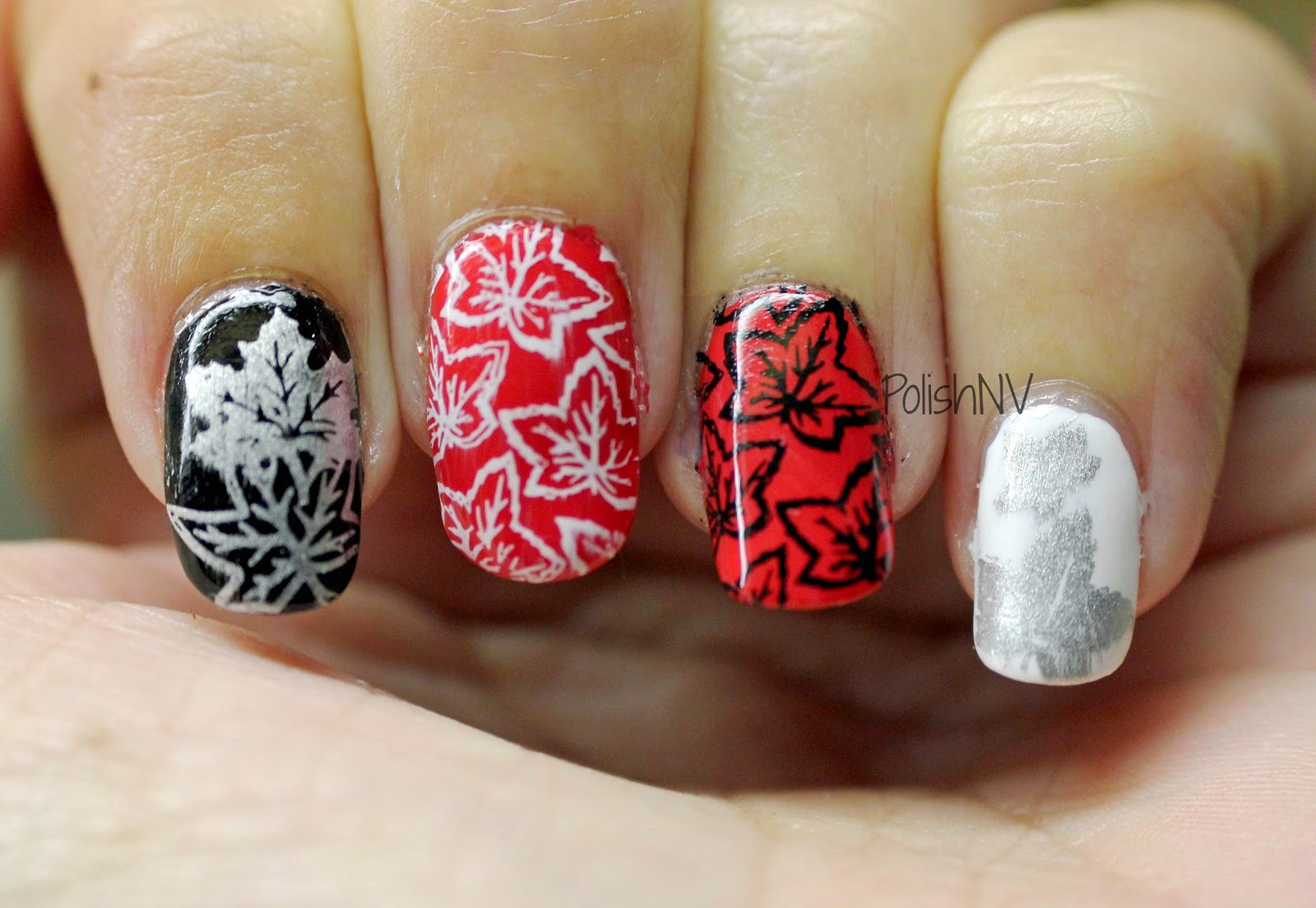 maple leaf stamping