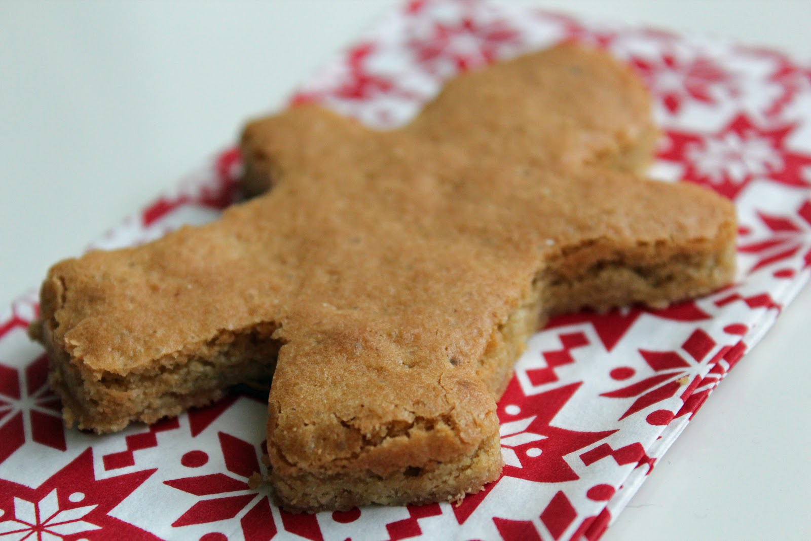 Nuts about food: Chewy, ginger cookie bars