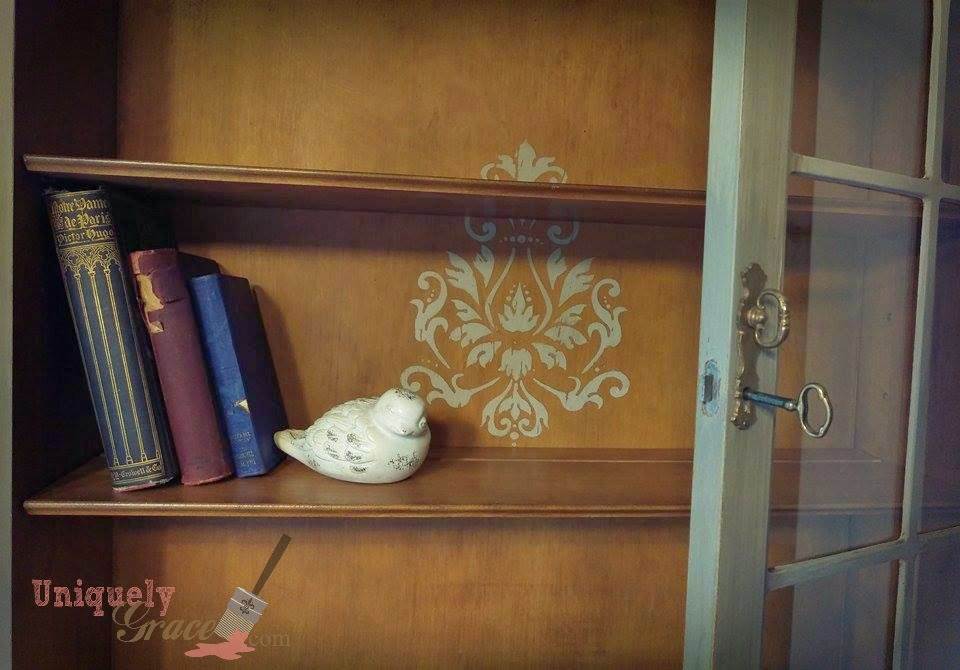 The Damask Stencil Was Chosen As A Representation Of Her Styleu2026 She Always  Tried Her Best To Find Nice Things For Us But She, A Single Mother Of One,  ...