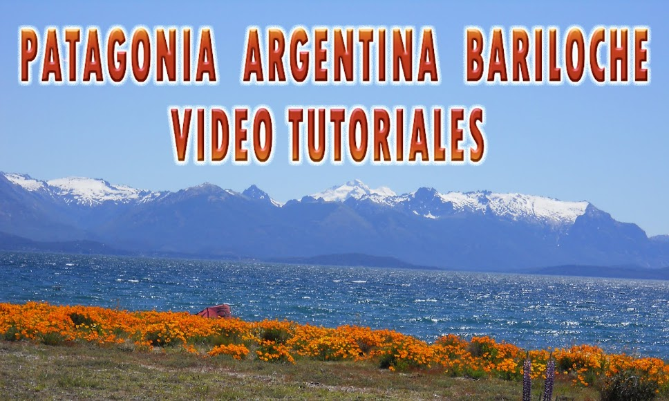 PATAGONIA ARGENTINA BARILOCHE VIDEO TUTORIALES