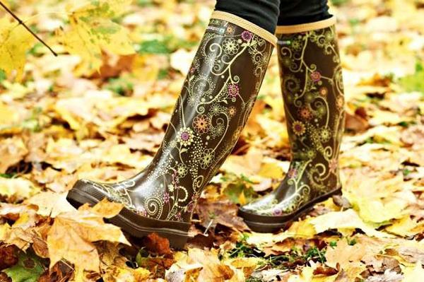 botas de lluvia