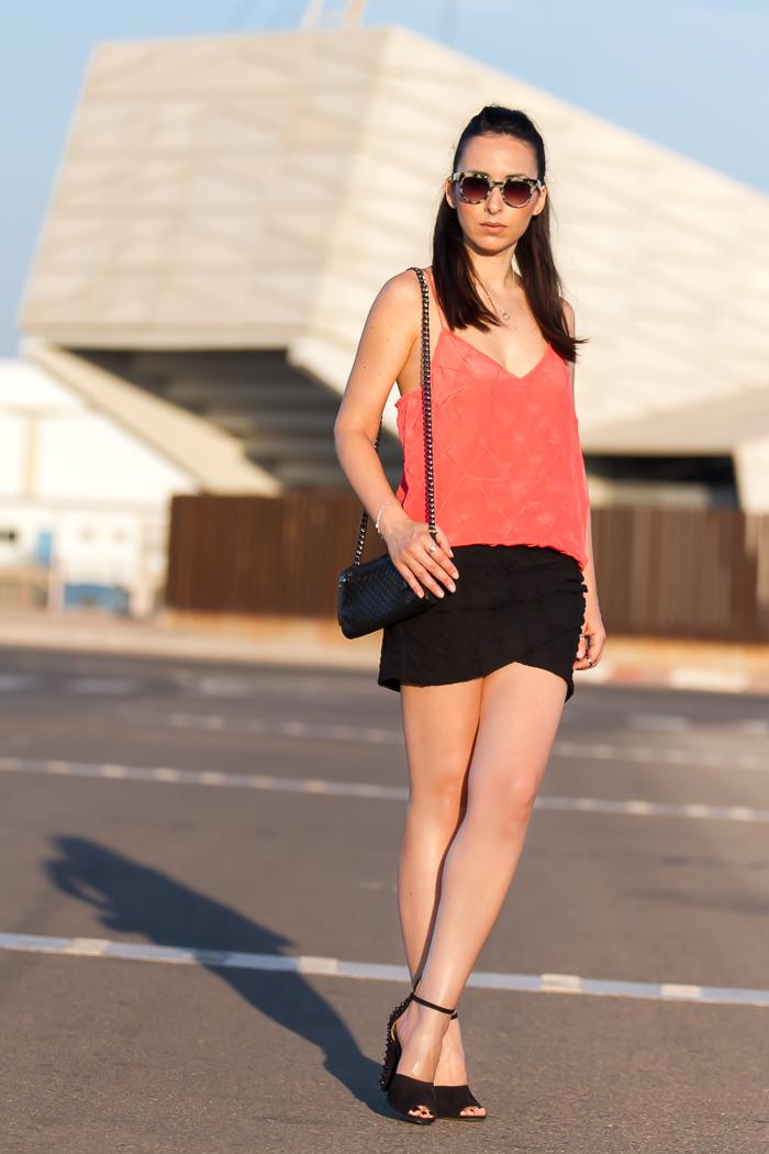 Blogger de moda valenciana estilo urban chic