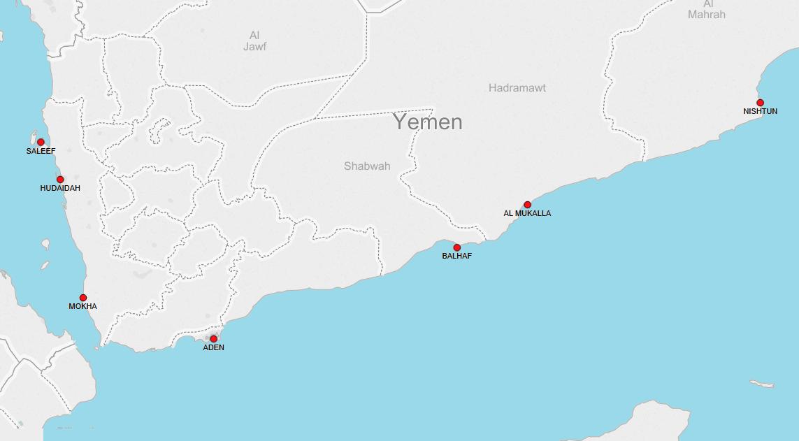 PORTS IN YEMEN