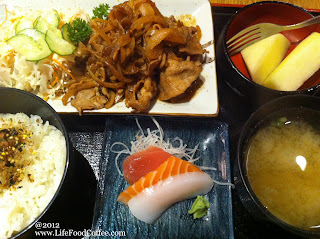 set lunch at Restaurant Hoshigaoka