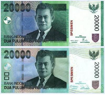 Desain Baru Uang Pecahan Rp 20.000, Rp 50.000, dan Rp 100.000