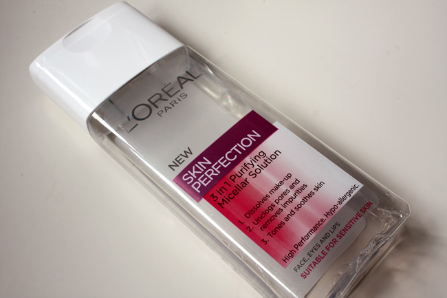 Loreal SKIN PERFECTION PURIFYING MICELLAR WATER