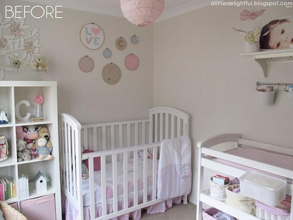 Dormitorio nina 7 anos decorar tu casa es - Como decorar una habitacion de bebe nina ...