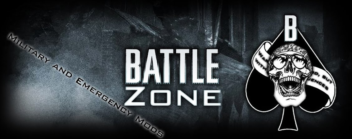 Battle Zone - Military and Emergency Mods