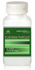 Green World Calcium Softgel