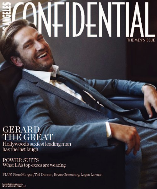 Gerard Butler @ LA Confidential Covers