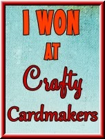 I Won At Crafty Cardmakers