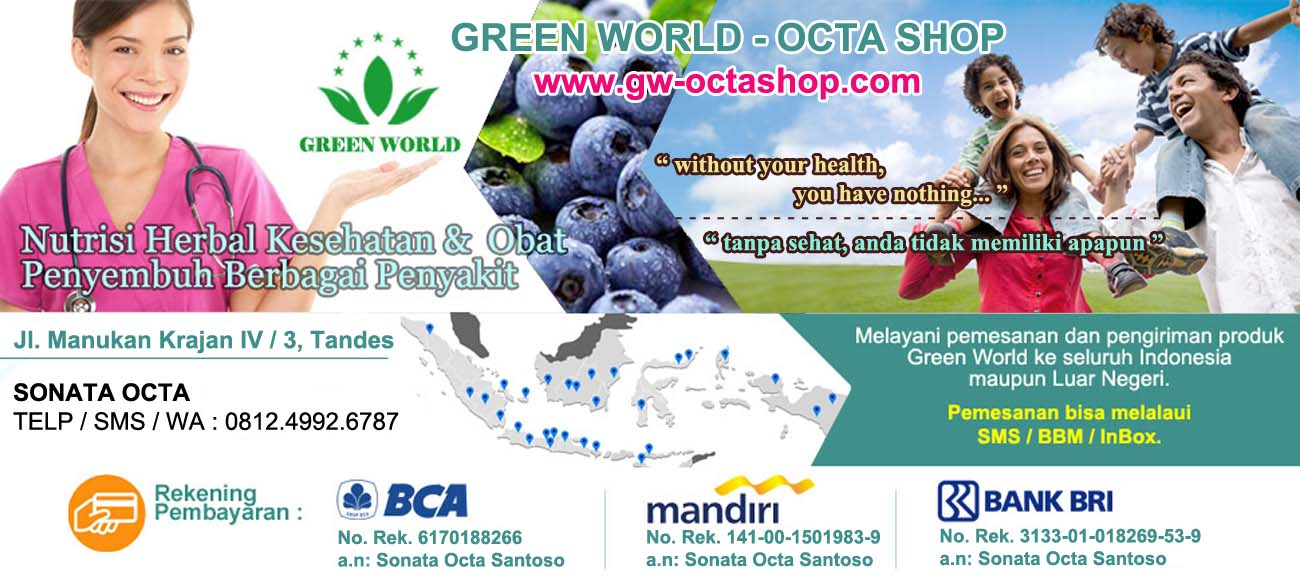 GREEN WORLD || 081249926787 || SONATA OCTA || AGEN RESMI GREEN WORLD