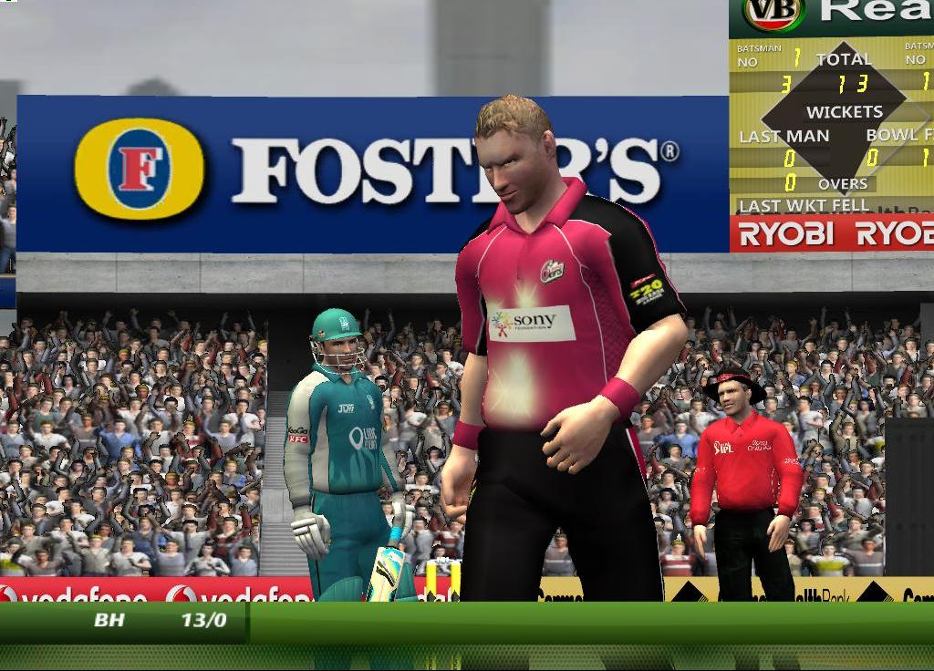 KFC Big Bash League (BBL) Cricket Patch 2012