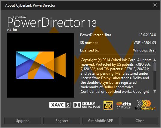 cyberlink powerdirector v13 ultimate keygen