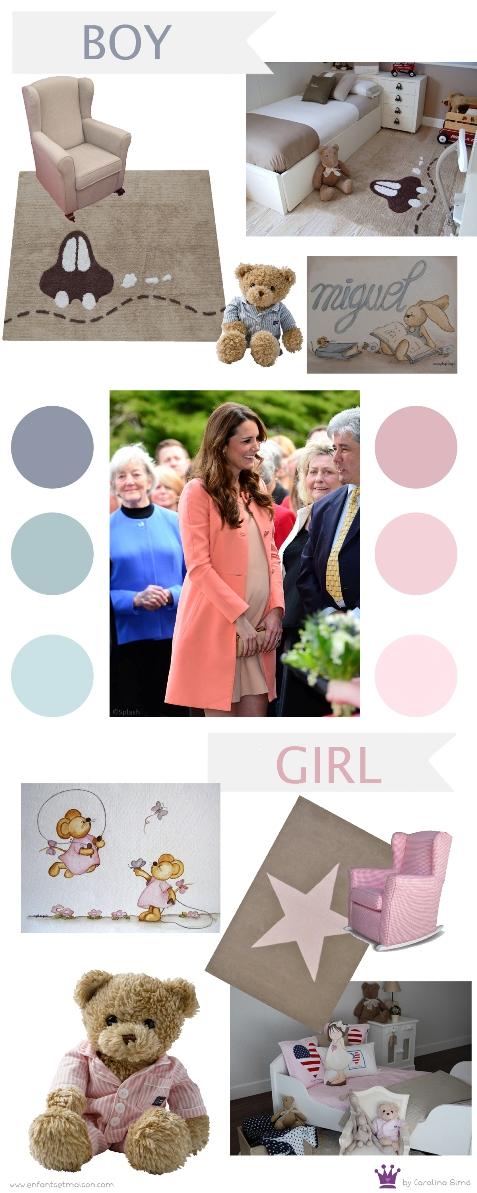 Kate Middleton premamá, Ideas decorar habitación niños, habitaciones bebé, Enfants et Maison, Carolina Simó