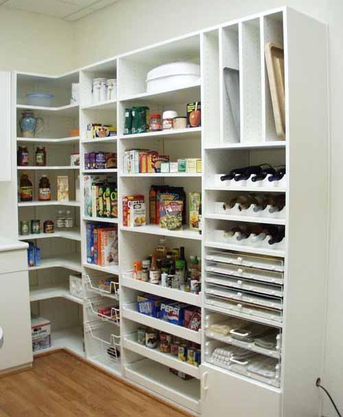 Desain Pantry Atau Sepen Dapur Tempat Penyimpanan Makanan