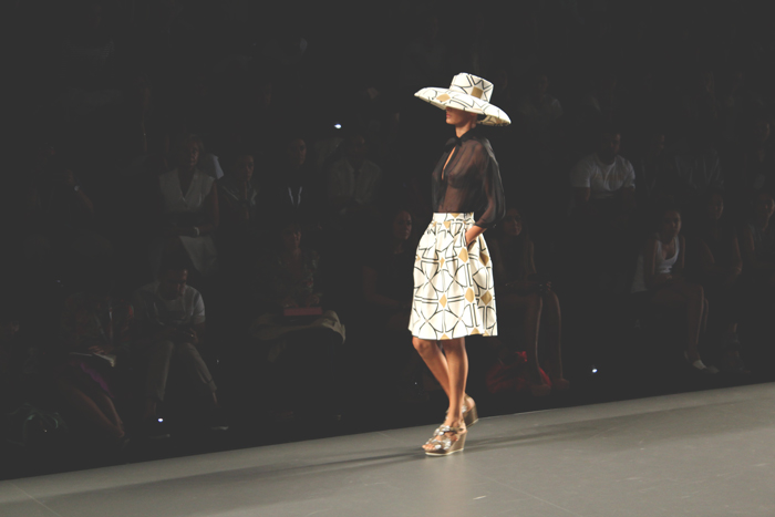 Ion Fiz, MBFW Madrid, PV13, hat, prints, 