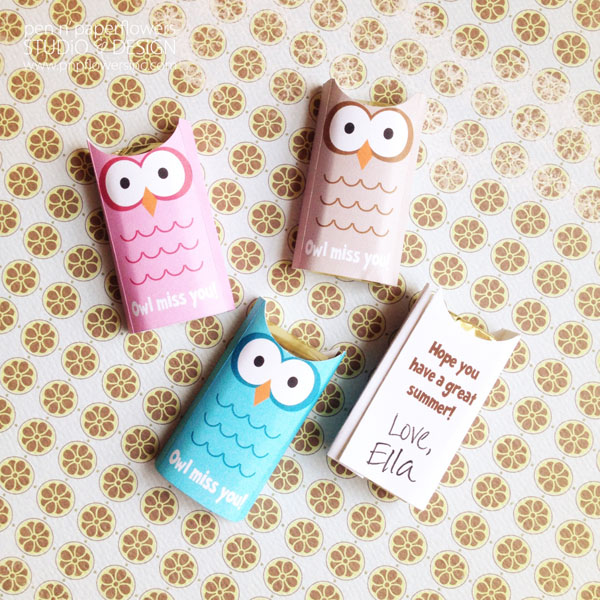 photo regarding Owl Miss You Printable called Pen + Paper Bouquets: Present Strategies Trainer Present and Clroom