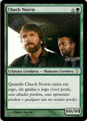 Carta Chuck Norris no Magic