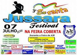 3º FESTIVAL DE MÚSICAS ENCANTA JUSSARA