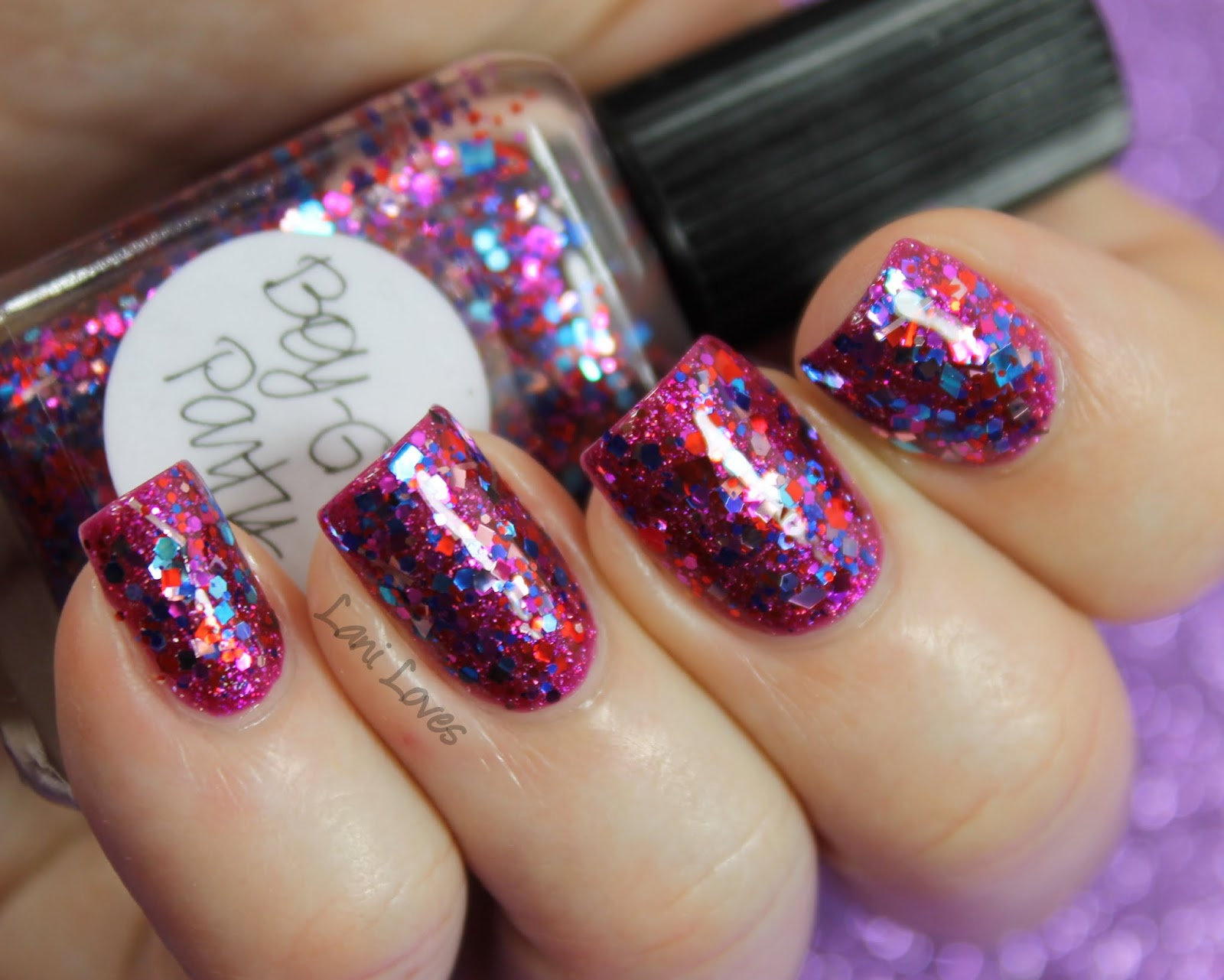 Lynnderella Boy-Girl Party nail polish swatch