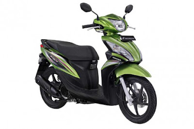 honda spacy warna hijau