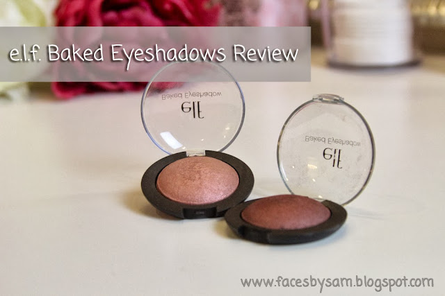 e.l.f. Baked Eyeshadow Review