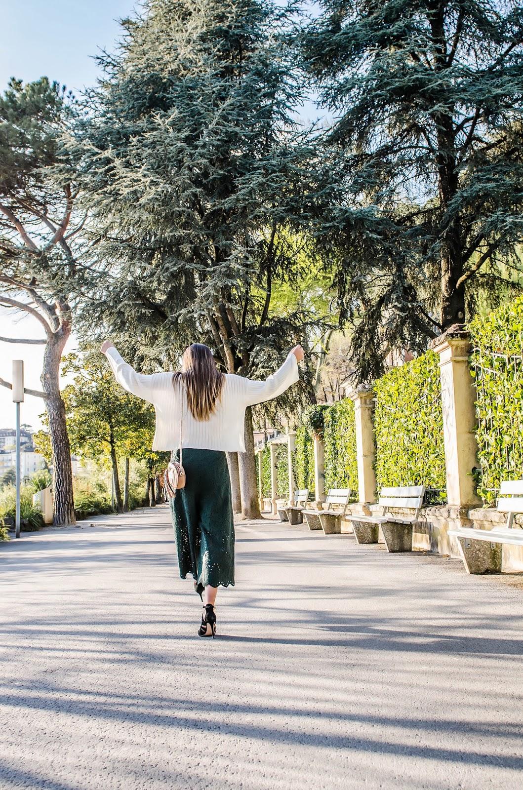 alison liaudat, blog from switzerland, blog mode suisse, swiss fashion blog, stylemoi, H&M, culotte short, Karen Walker, Zara black sandals, outfit of the day, fashion blogger,