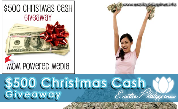 $500 Christmas Cash Giveaway