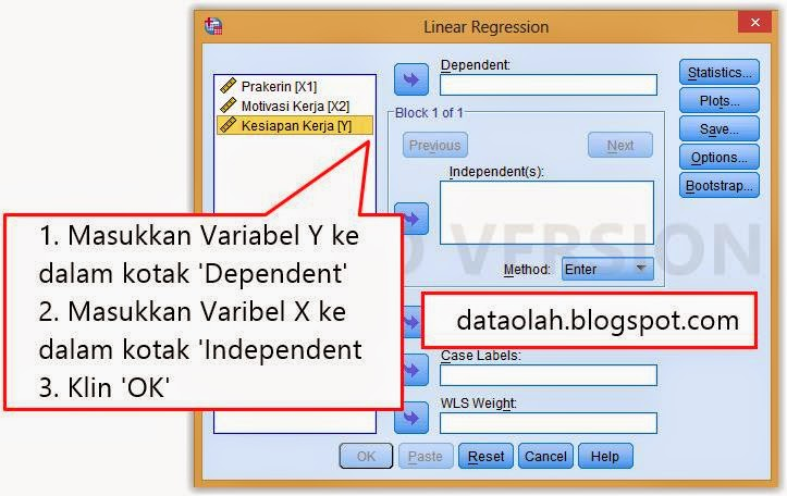 Tutorial uji t dengan ibm spss 21 olah data statistik tutorial uji t dengan ibm spss 21 ccuart Image collections