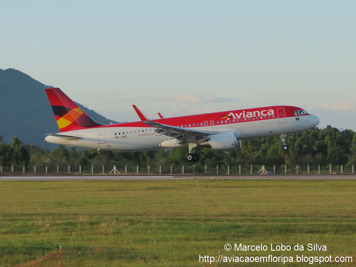 First A320 of Avianca Brasil with Sharklets  Airline
