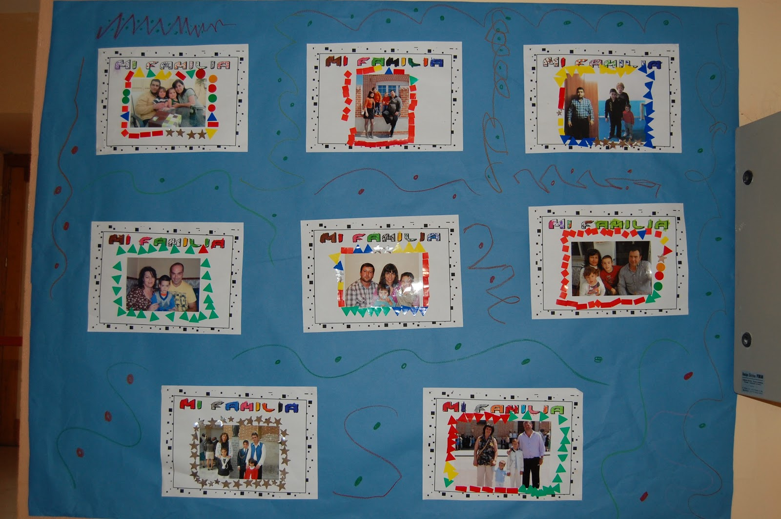 Pequeblog mural mi familia for Mural una familia chicana