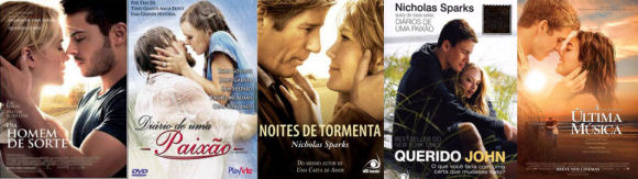 Filmes do Nicholas Sparks