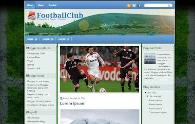 Dsain sekolah sepak bola footballclub